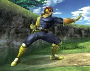 Captain Falcon Profil Brawl 2
