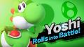 Splash art Yoshi SSB4-0