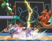 Pikachu attaques Brawl 8