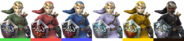 Couleurs Link Brawl