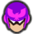 Icône Captain Falcon rouge Ultimate