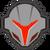 Icône Samus sombre blanc Ultimate