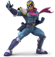 Art Captain Falcon bleu Ultimate