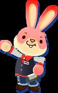 Lapin Nintendo Badge Arcade