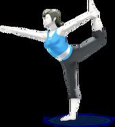 Entraîneuse Wii Fit SSB4