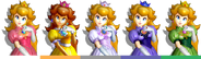 Couleurs Peach Melee