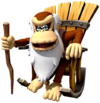 Art Cranky Kong Returns