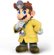 Art Dr. Mario jaune Ultimate