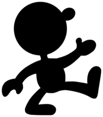 Art Mr. Game & Watch Manhole