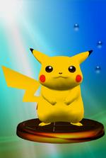 Trophée Pikachu SSBM