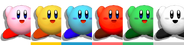Couleurs Kirby Melee