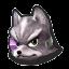 Icône Fox violet U
