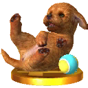 Trophée Caniche toy 3DS