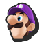 Icône Luigi violet U