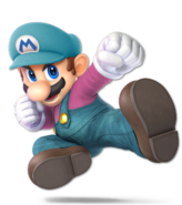 Art Mario bleu Ultimate