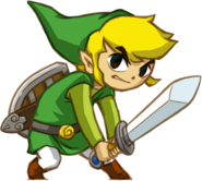 Link Spirit Tracks