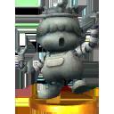 Trophée Statue de Porky 3DS
