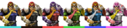 Couleurs Captain Falcon Brawl