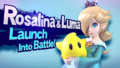 Splash art Harmonie & Luma SSB4