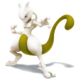 SSB4 Mewtwo jaune