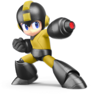 Art Mega Man noir Ultimate