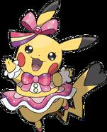 Art Pikachu Star ROSA