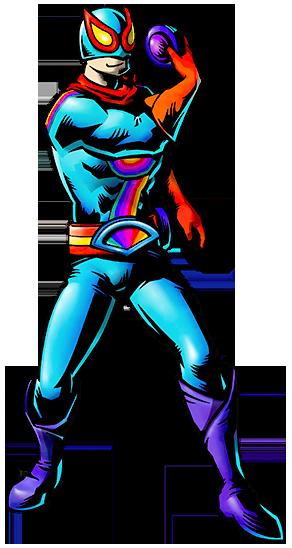 Art Captain Rainbow CR