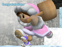 Félicitations Ice Climbers Melee All-Star