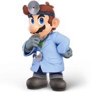 Art Dr. Mario bleu Ultimate
