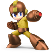 Art Mega Man marron Ultimate