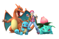 Dresseur de Pokémon Artwork SSBB