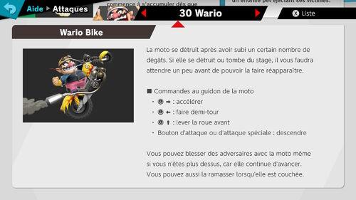 Attaques Ultimate Wario2