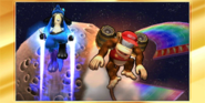 Félicitations Diddy Kong 3DS All-Star