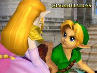 Félicitations Link enfant Melee Classique