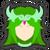 Icône Palutena vert Ultimate