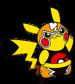 Art Pikachu Catcheur PGL