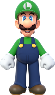 Luigi New Super Mario Bros U Deluxe