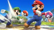 Mario et Luigi - Master Ball et Poké Ball