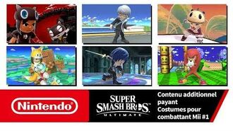 Super Smash Bros. Ultimate – Costumes pour combattant Mii 1 (Nintendo Switch)