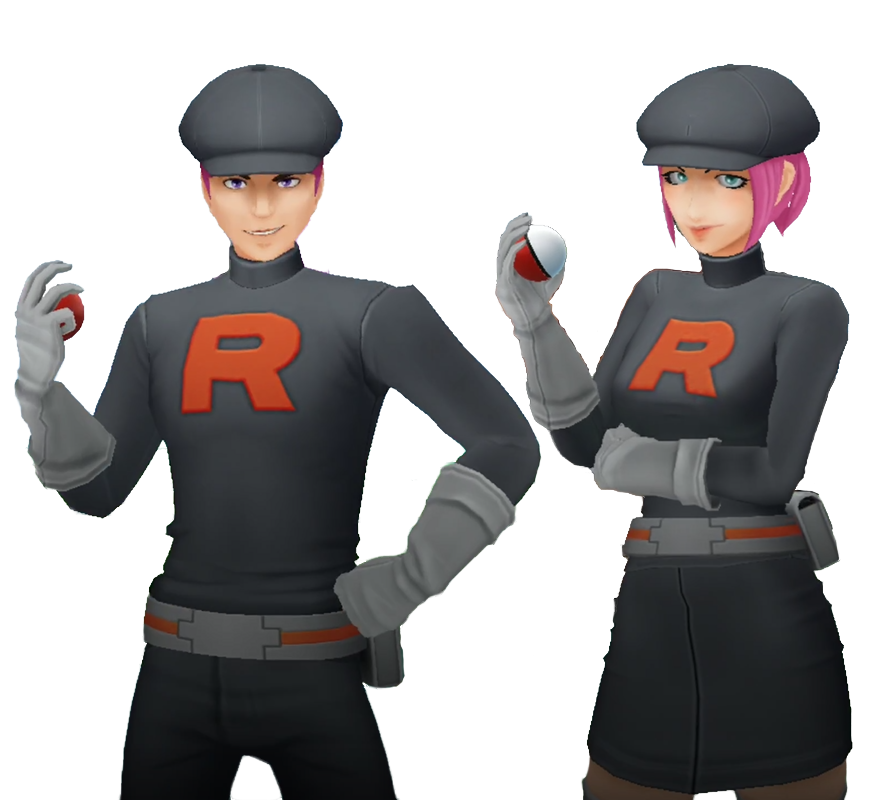 Sbires de la Team Go Rocket