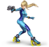 Art Samus sans armure Ultimate