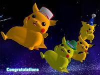 Félicitations Pikachu Melee Aventure