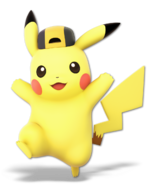 Art Pikachu jaune Ultimate