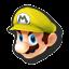 Icône Mario jaune U