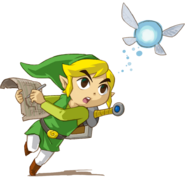 Link Phantom Hourglass