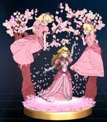 Trophée Peach en fleurs Brawl