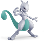 Art Mewtwo bleu clair Ultimate
