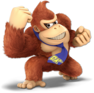 Art Donkey Kong rouge Ultimate