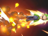 Missile vert