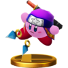 Trophée Kirby Ninja U